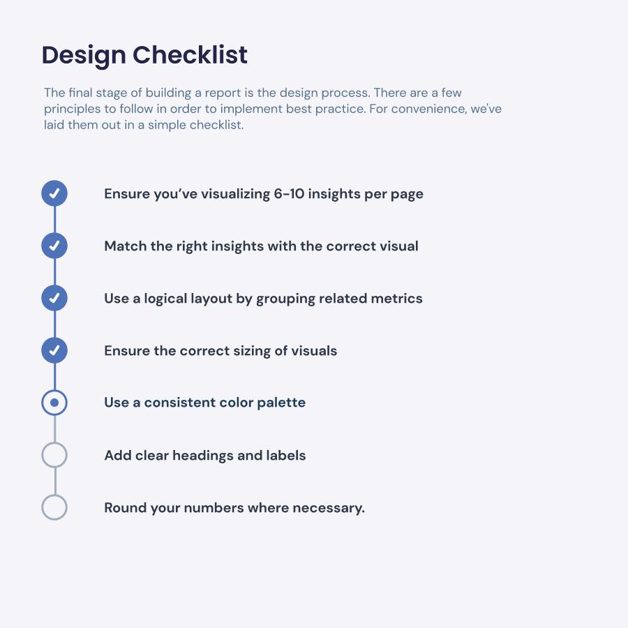 Design Checklist