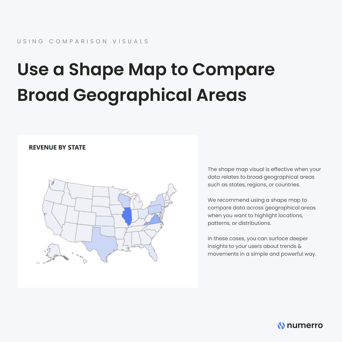 Using Comparison Visuals - Shape Maps