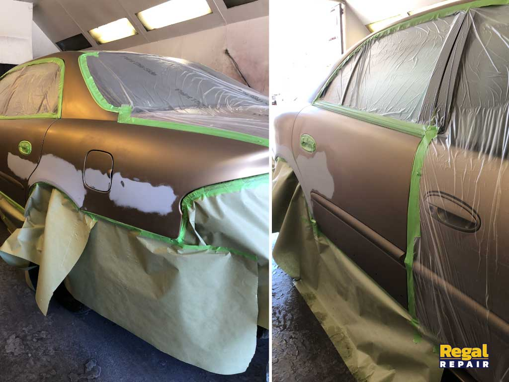 Buick Regal Prep and Paint
