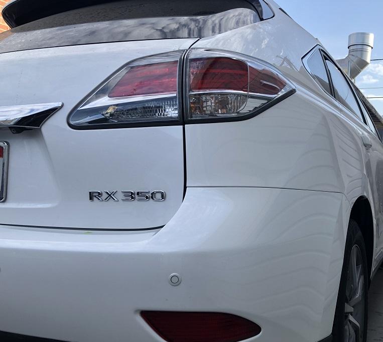 Lexus Rear Body Repair