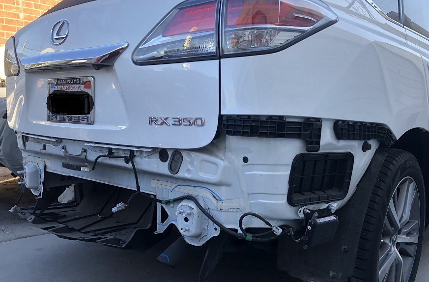 Lexus Rear Collision