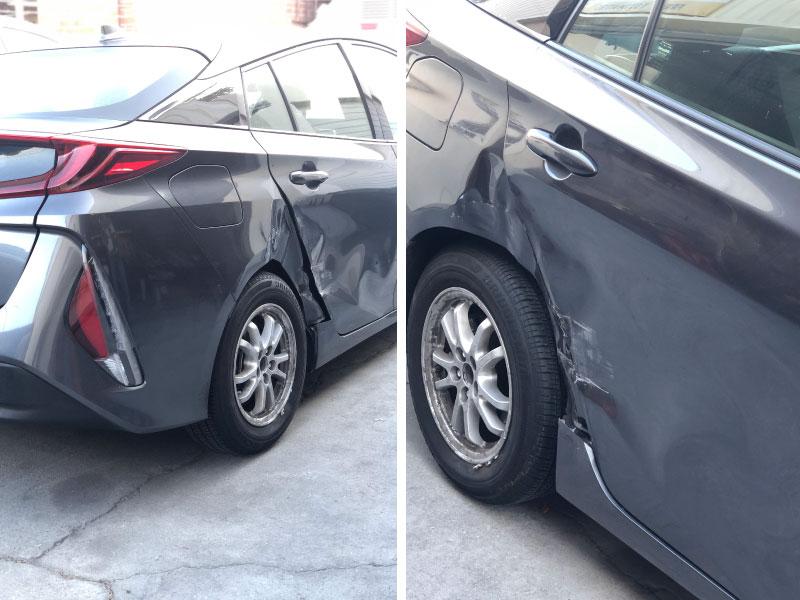 2019 Prius Prime Collision
