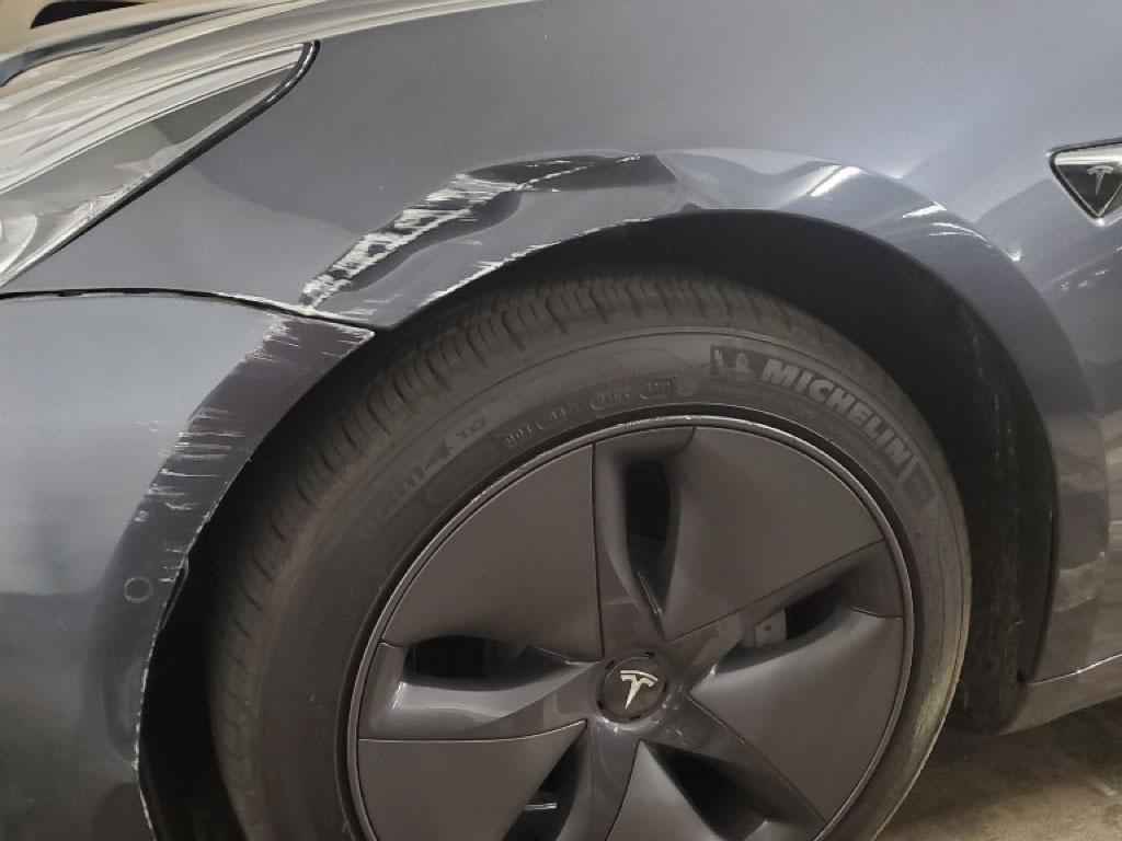 Tesla Fender Repair