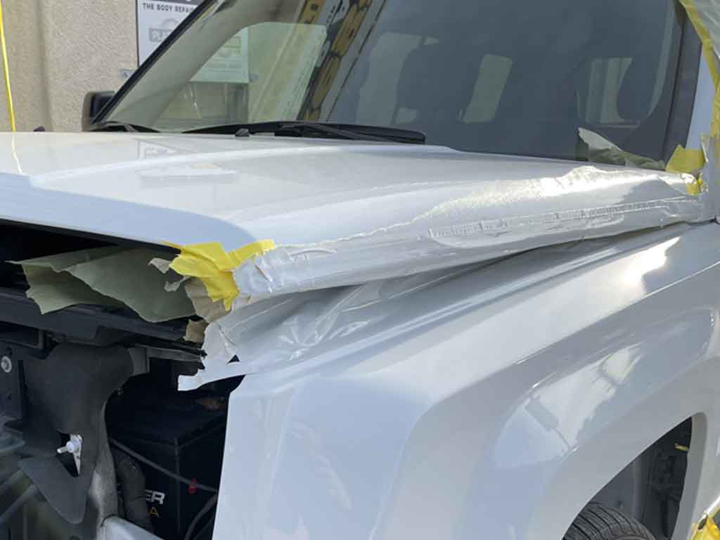 Jeep Patriot Collision, Dent Repair Process