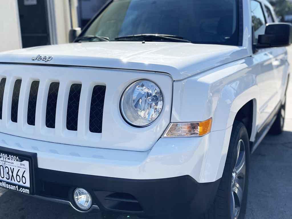 Jeep Patriot Collision Repaired