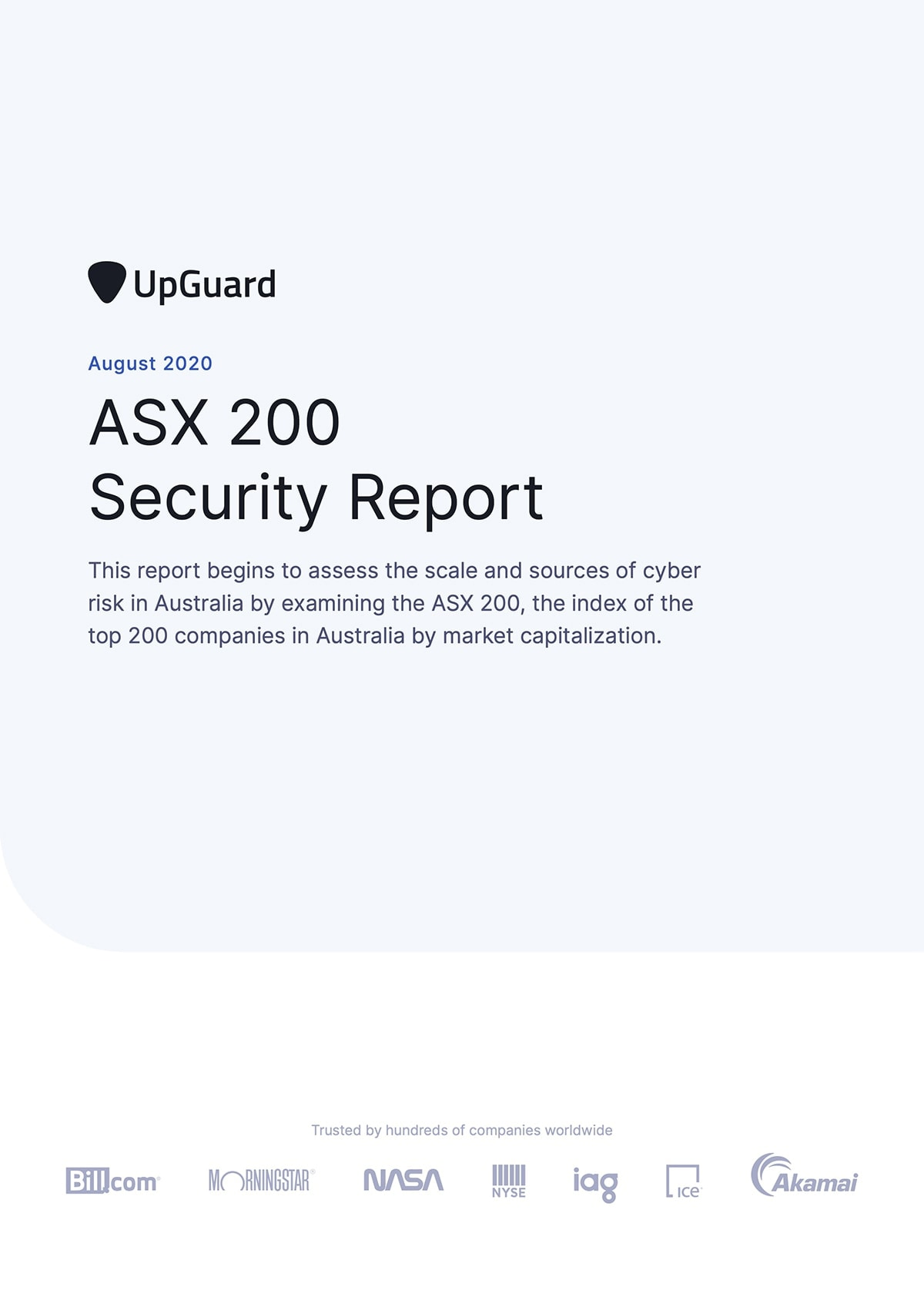 ASX 200 report mockup
