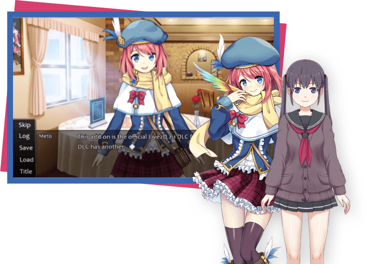 visual-novel-maker-live2d-and-voice-sync-support-screenshot