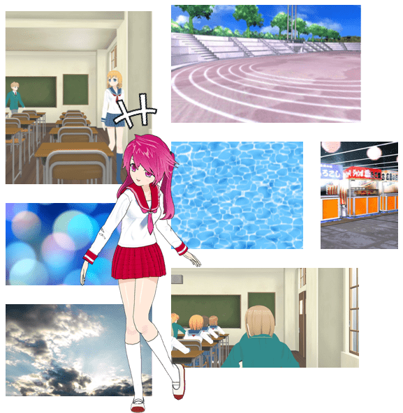 manga-maker-comipo!-background Images-screenshot
