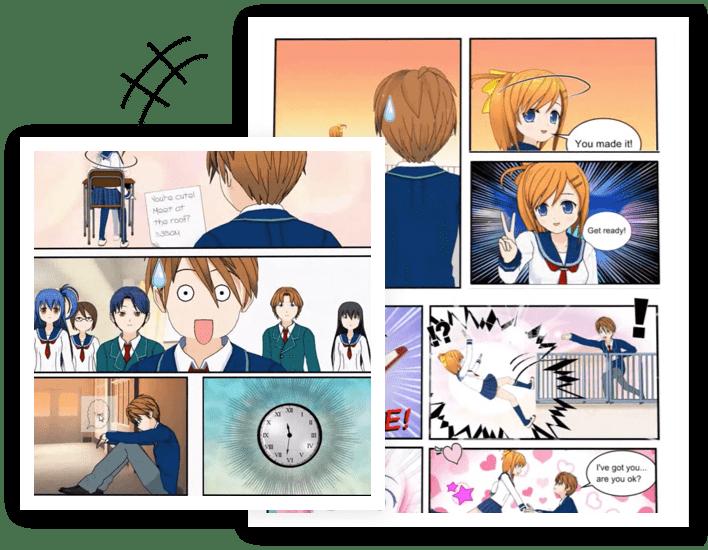 manga-maker-comipo!-posing-characters-screenshot