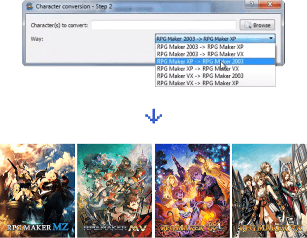 game-character-hub-portfolio-edition-format-conversion-screenshot