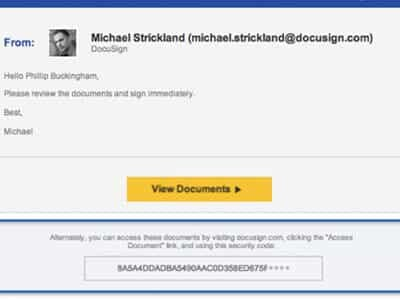 Breach at DocuSign Led to Targeted Email Malware Campaign