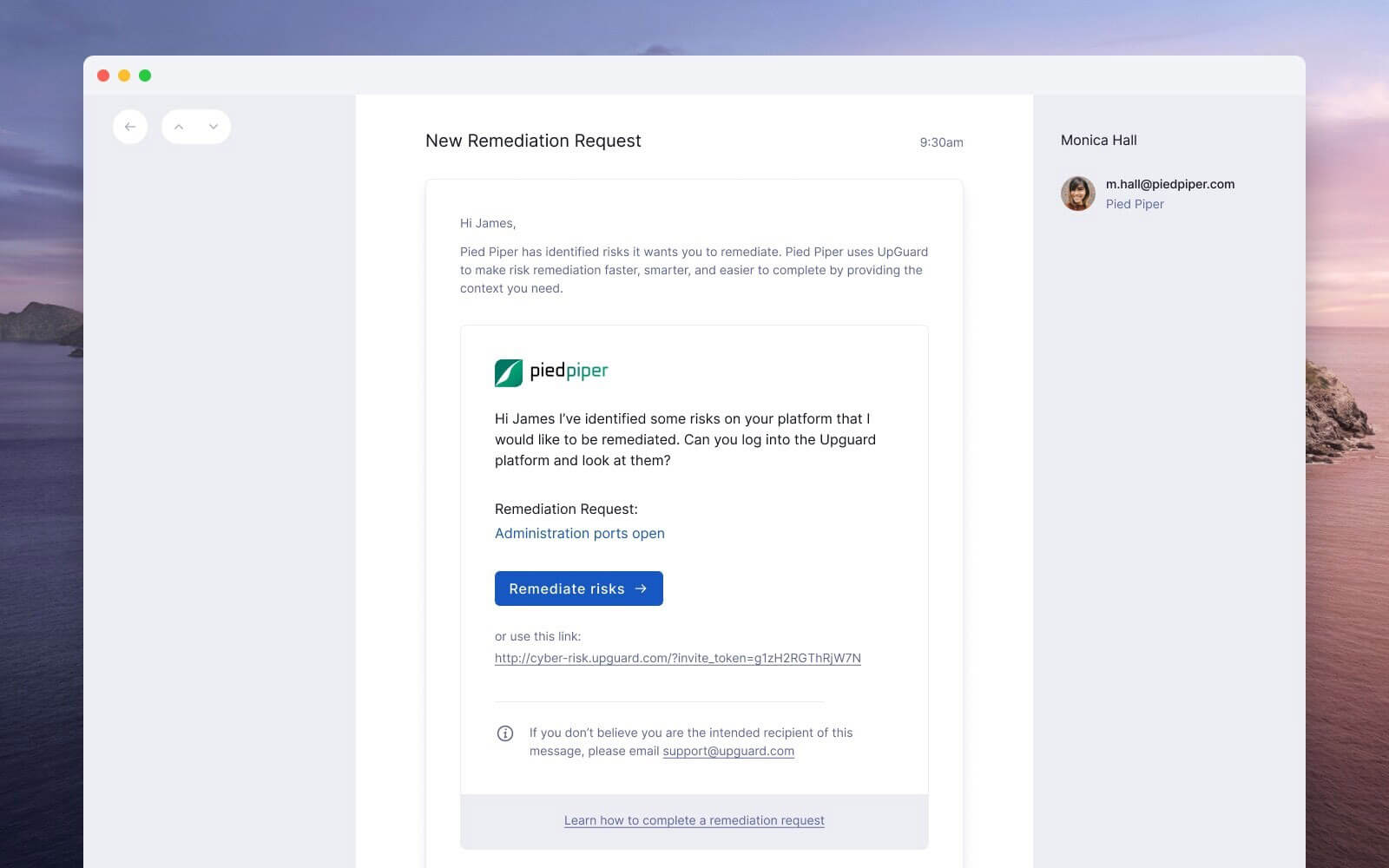 Better emails: Support for company branding and better calls to action