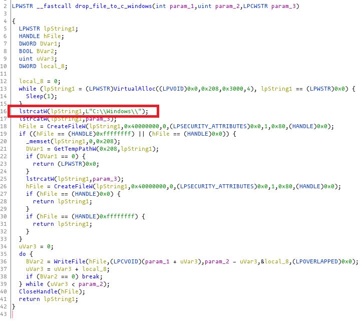 Kaseya supply chain attack DLL sideloading process - Source: huntress.com