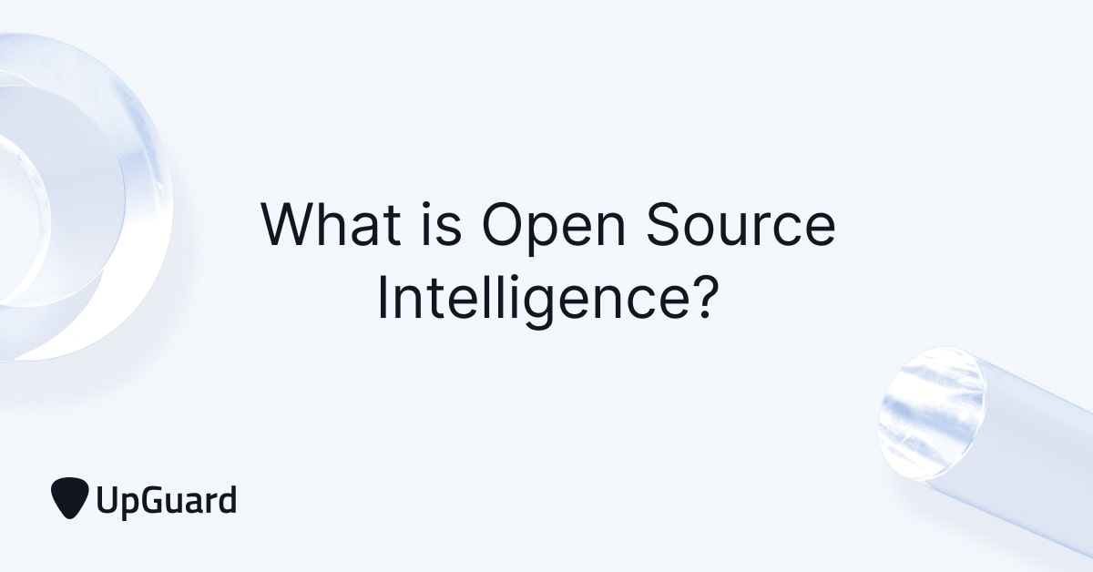 What is Open Source Intelligence?