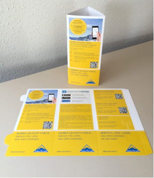 invitation to mobile ethnography by flyers