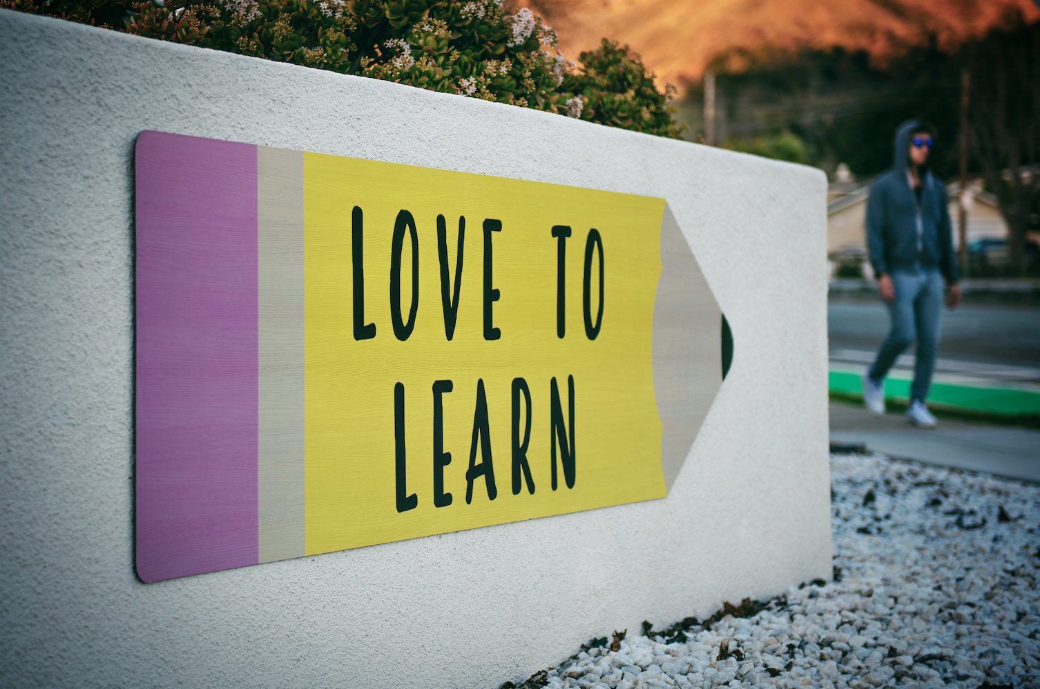 motivating sign of learning