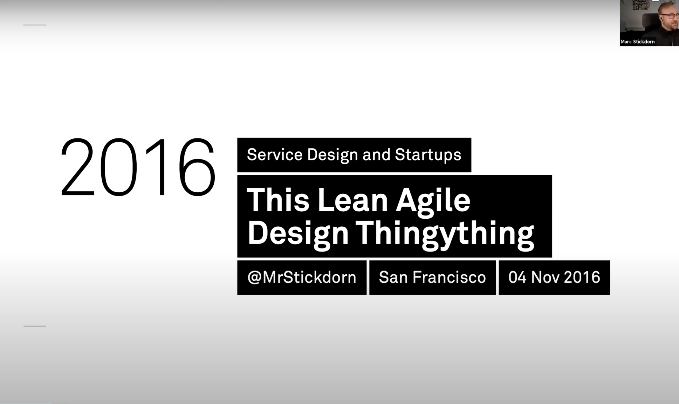 slidedeck cover: this lean agile design thingything