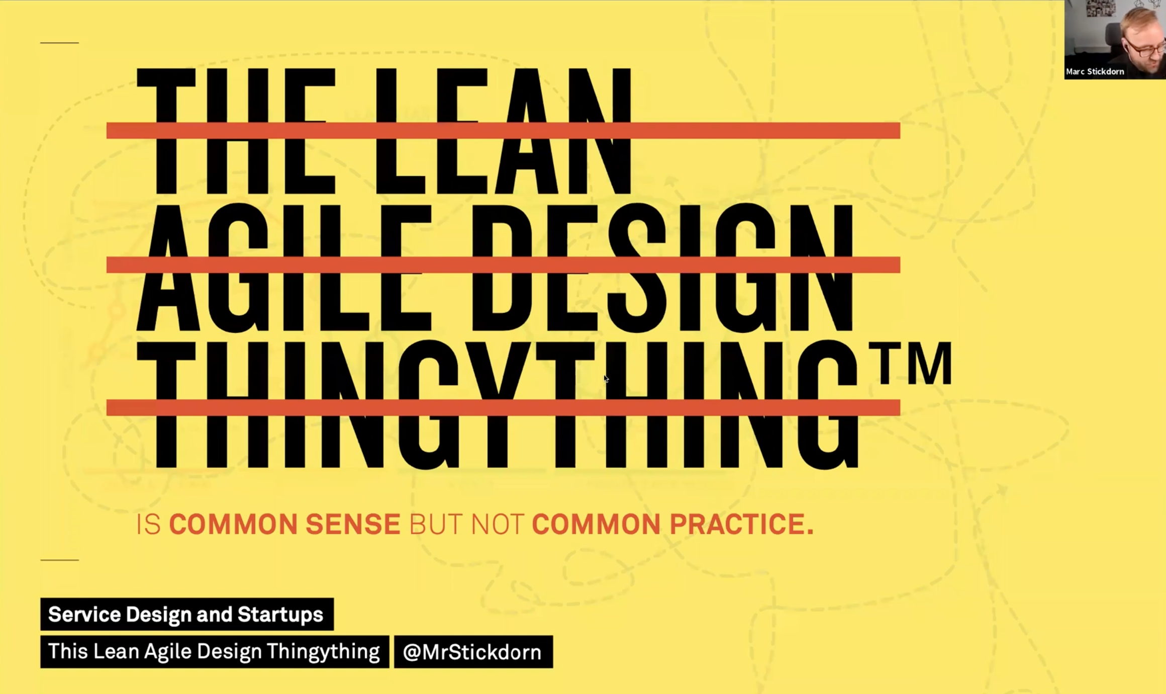What we do is often common sense. The challenge is to make it common practice.