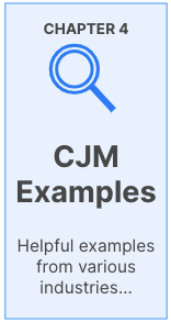 CJM examples: Helpful examples from various industries.