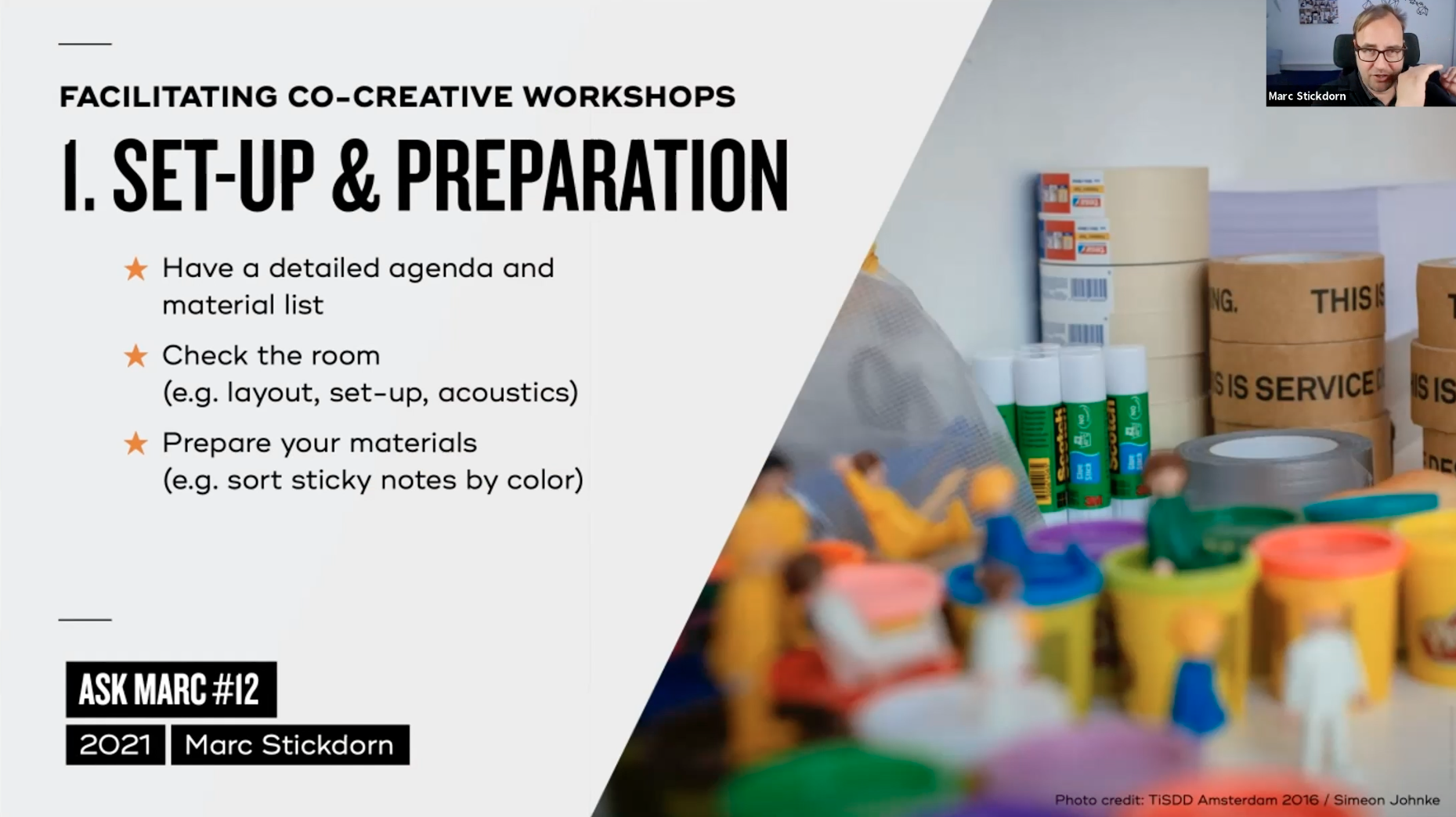Tip 1: Set up and preparation