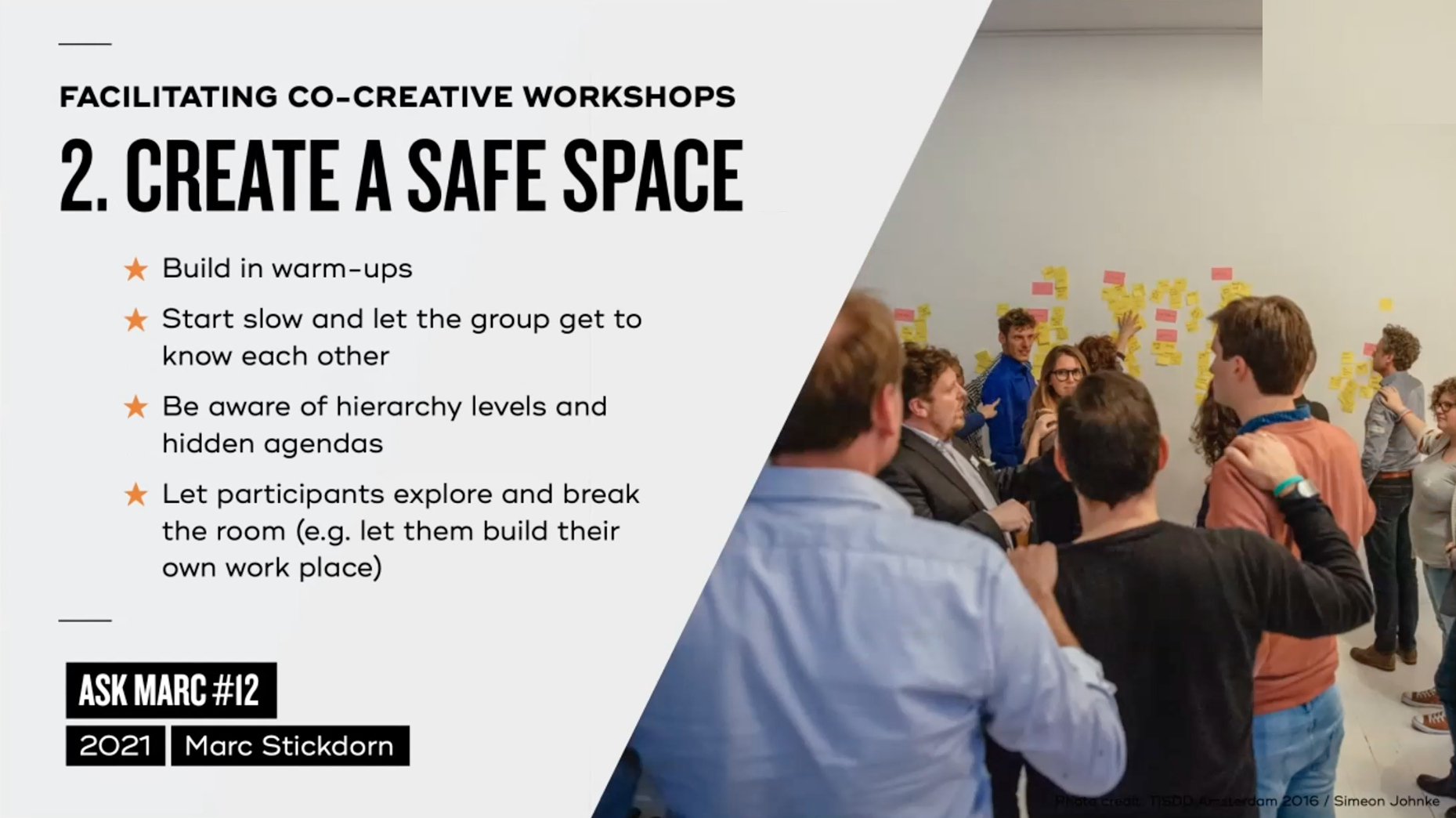 Tip 2: Creat a safe space