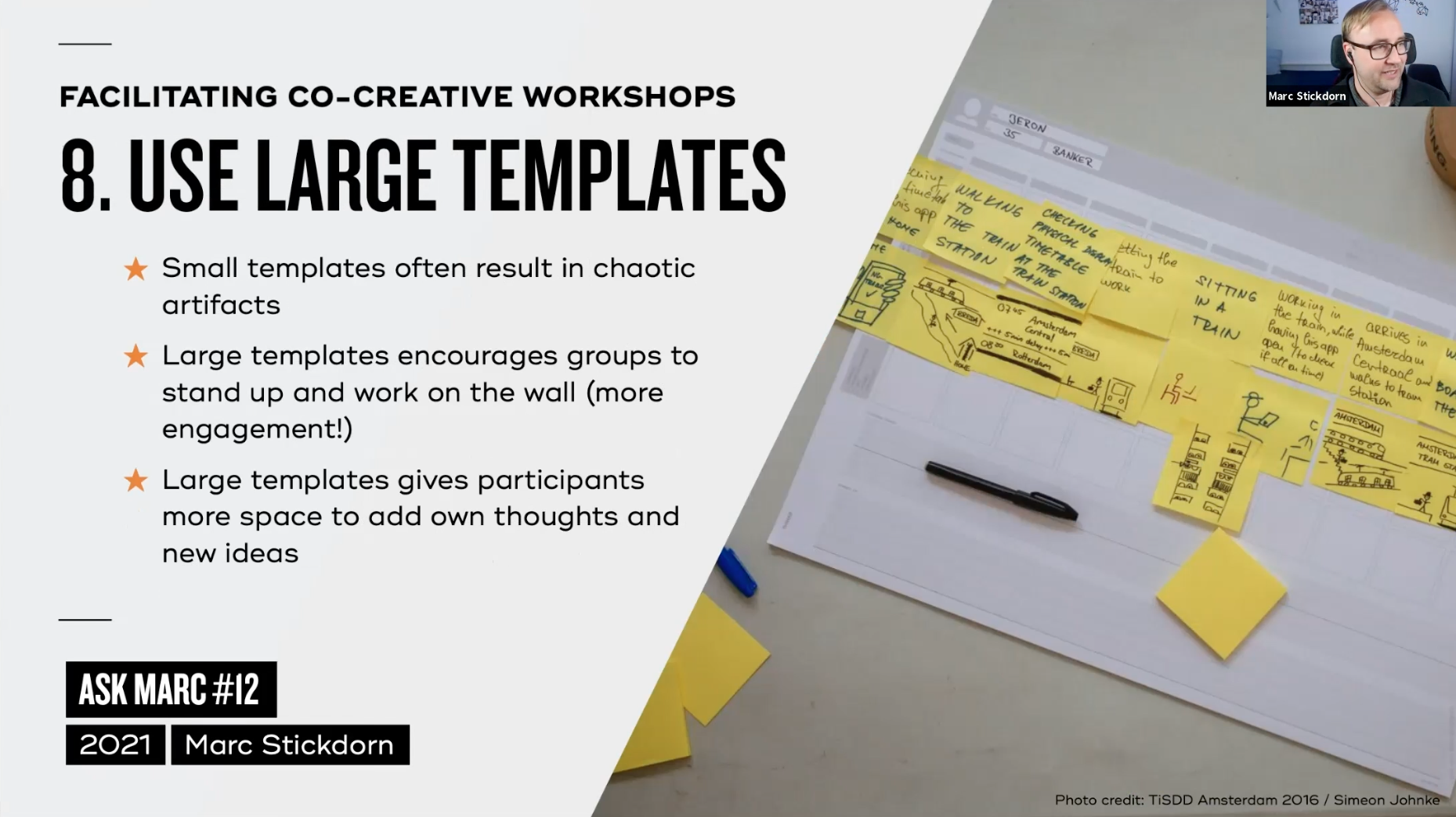 Tip 8: use large templates