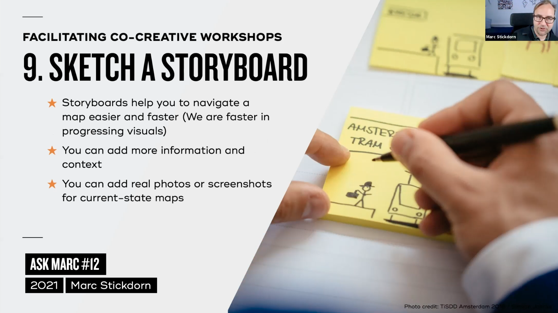 Tip 9: sketch a storyboard