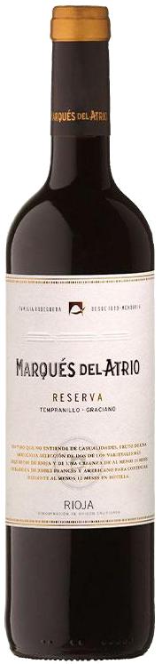 2015 Marques del Atrio Rioja Reserva