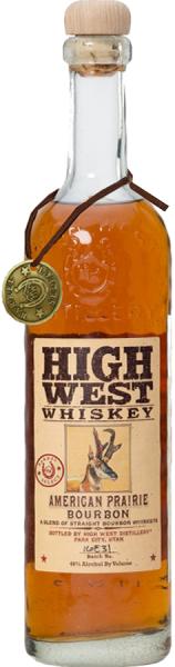 High West Distillery Bourbon