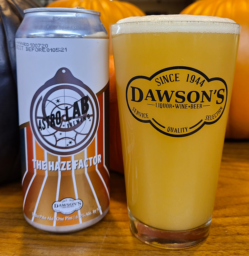 The Haze Factor - Dawson's Collaboration with Astrolab