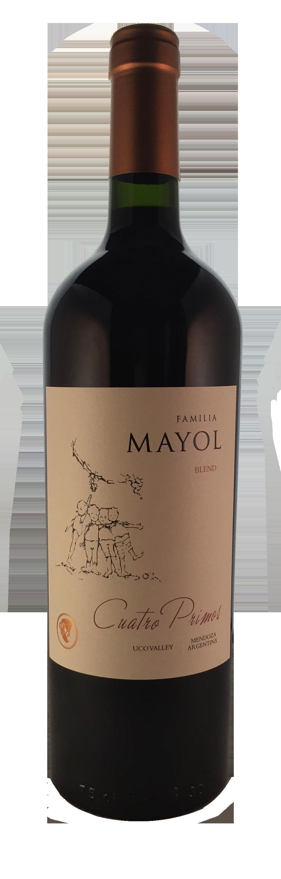 """Familia Mayol """"Cuatro Primos"""" Red Blend - 2017 Uco Valley Mendoza, Argentina"""