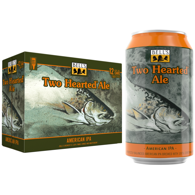 Bell's Two Hearted American IPA 12 Pack Cans