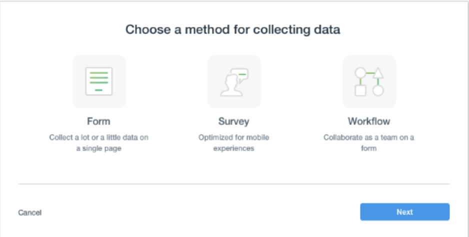 Building a 1Q survey from scratch
