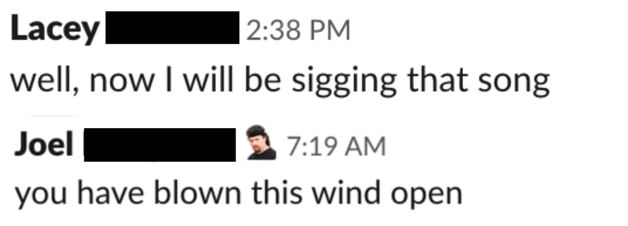 slack communication