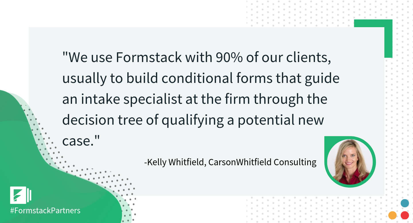 Kelly Whitfield, CarsonWhitfield Consulting quote