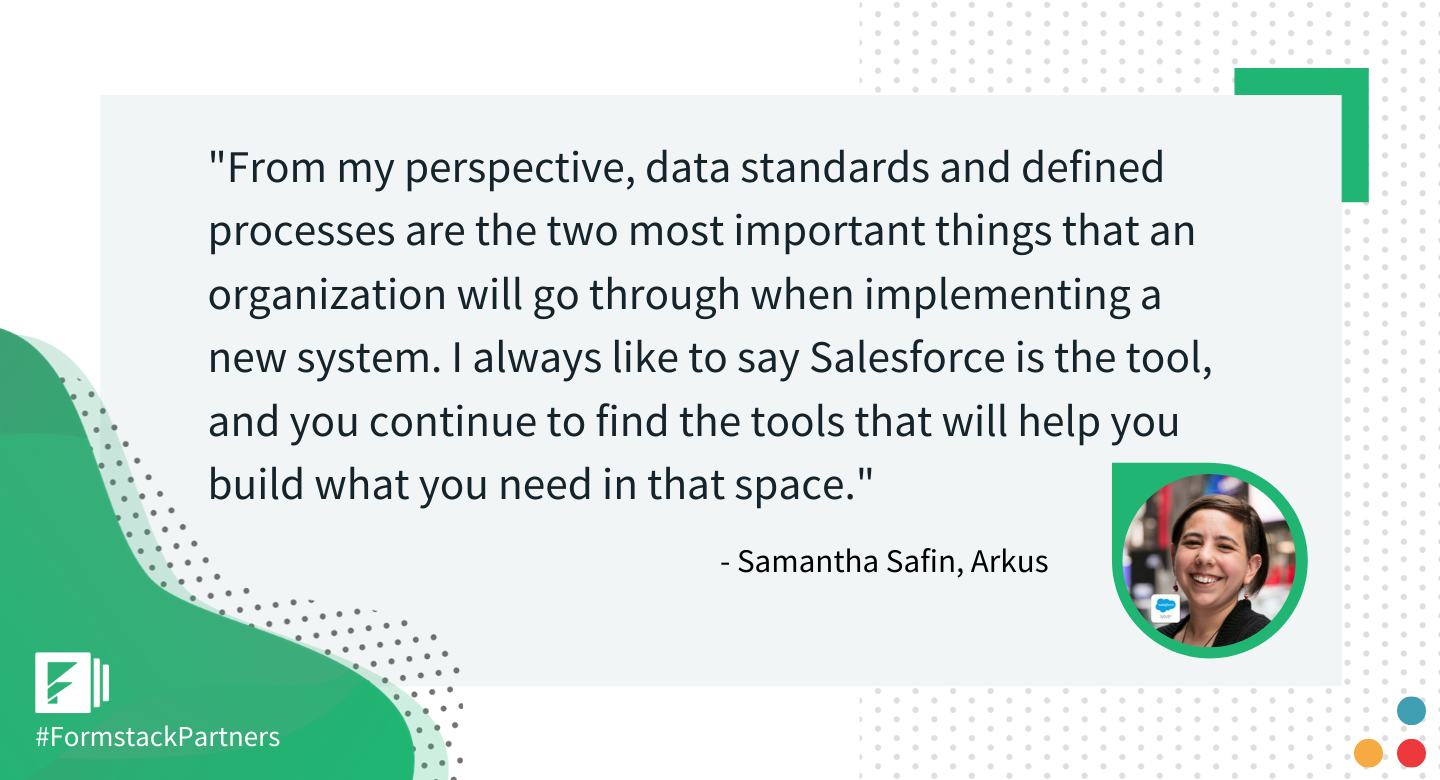 Samantha Safin of Arkus discusses Salesforce