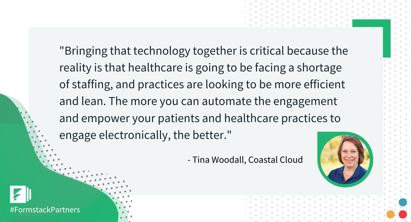 Tina Woodall of Coastal Cloud discusses making healthcare practices more digital.