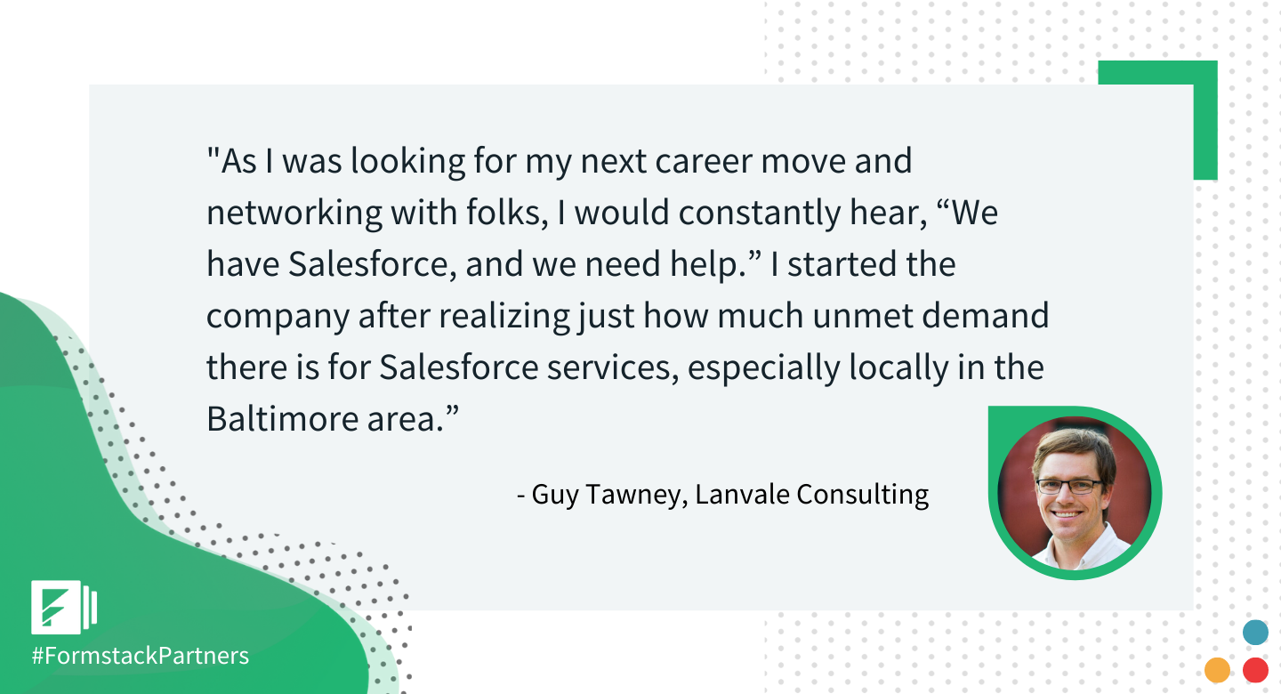 Guy Tawney of Lanvale Consulting discusses why he started Lanvale Consulting.