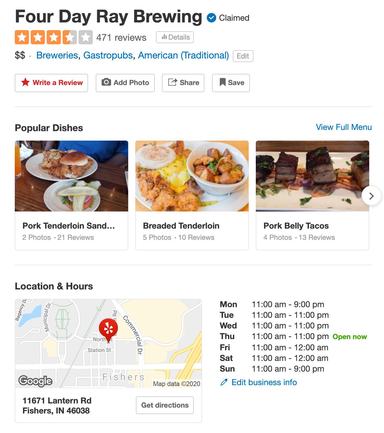 How do APIs work using Yelp Google Maps example