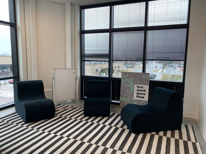 Formstack Fishers Office - Black/White Room
