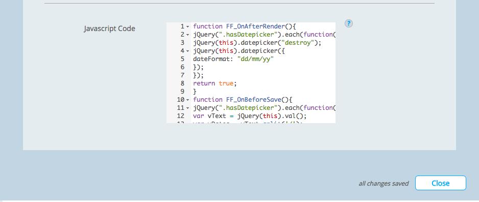 Salesforce Javascript code