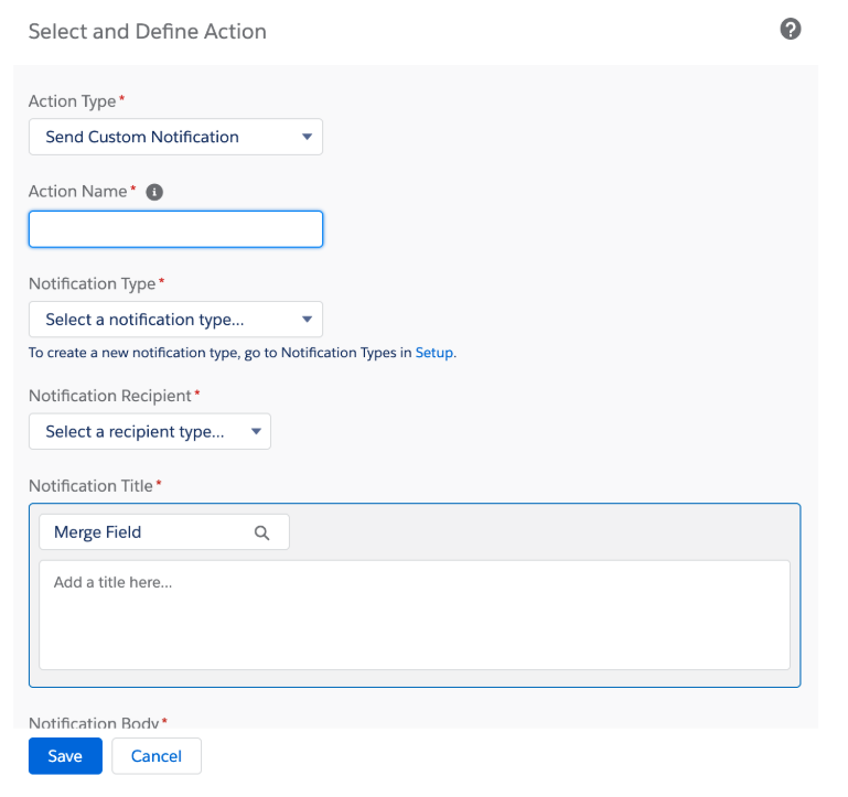 Salesforce Summer 19 Release notification builder
