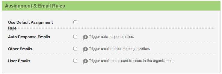 Formstack Salesforce Integration Email Options