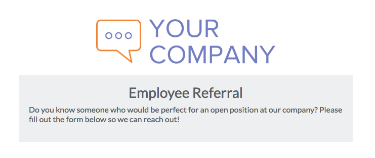 employee referral forms