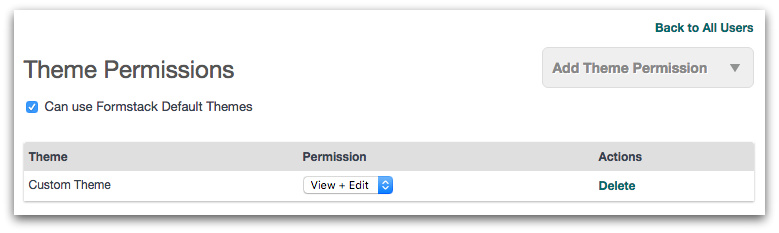 Theme Permissions for Multiple Users