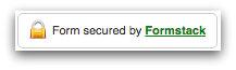Formstack Web Form Security Logo