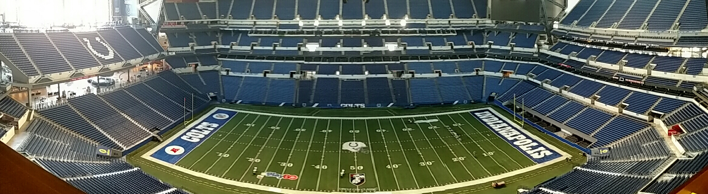 Lucas Oil Stadium Tour