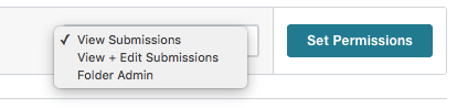 Formstack - Set User Permissions