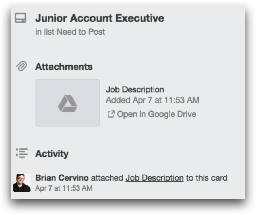 Using Trello for Your Hiring Process