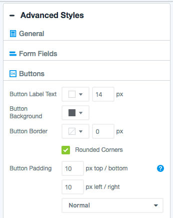 Advanced Styles for Form Themes